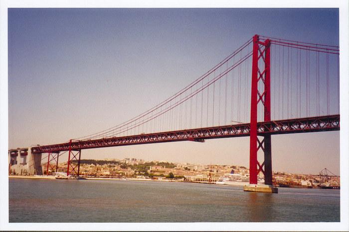 Brücke des 25. April, Lissabon