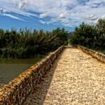 """Brücke im Albufera Naturpark"""