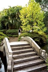 Brücke im Chinesischen Garten