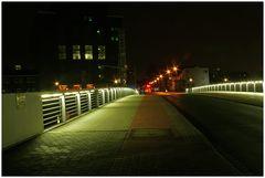 Brücke im Duisburger Innenhafen