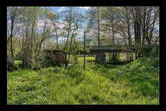 Brücke im Frühling