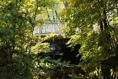 Brücke im Grünen