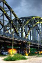 Brücke im Osthafen