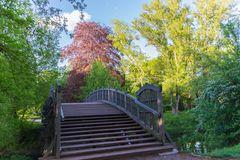 Brücke im Stadtpark