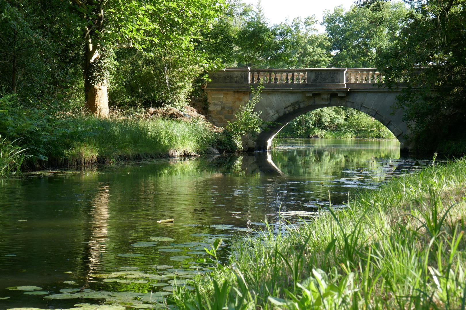 Brücke im Wörlitzer Gartenreich