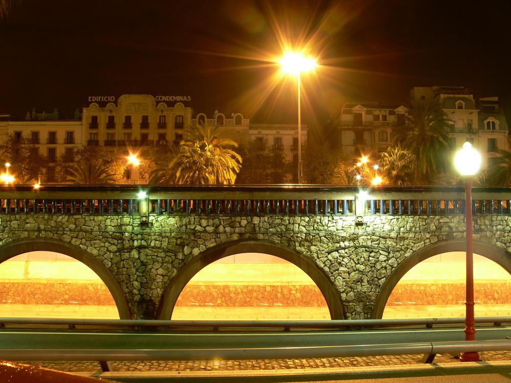 Brücke in Barcelona