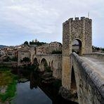 Brücke in Besalu 3, Pont of Besalu, Puente en Besalu  (E 1513),