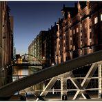 Brücke in der Speicherstadt