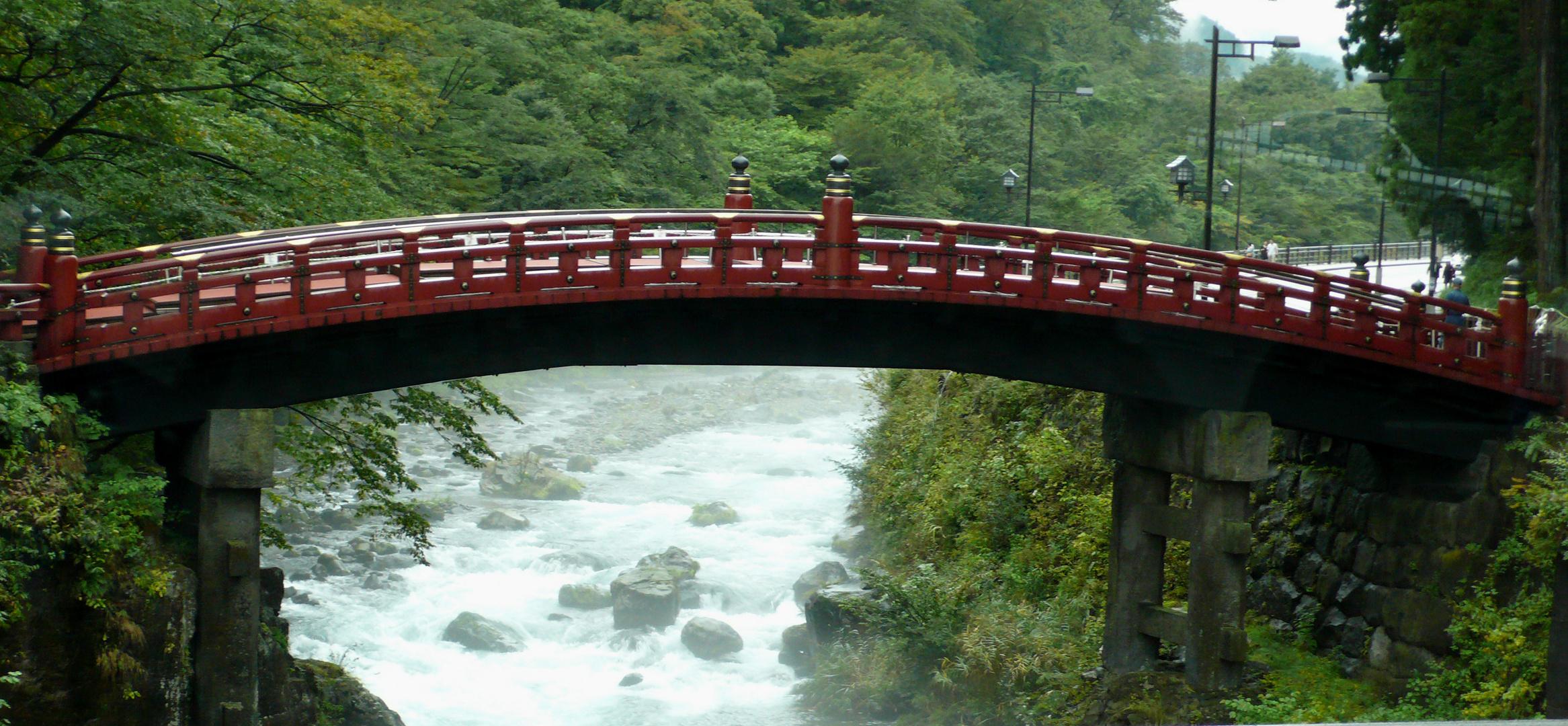 Brücke in Nikko