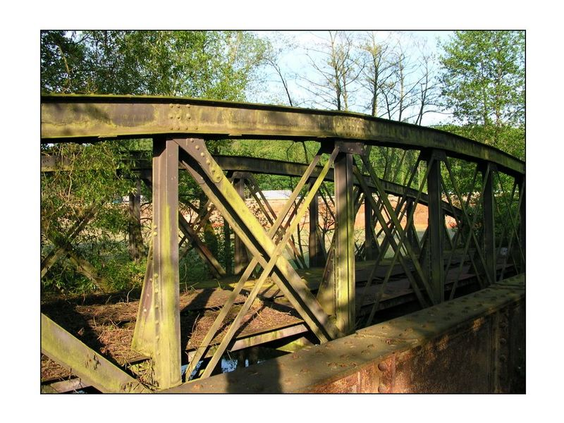 """Brücke mit  """"Lochfraß"""" - *smile"""