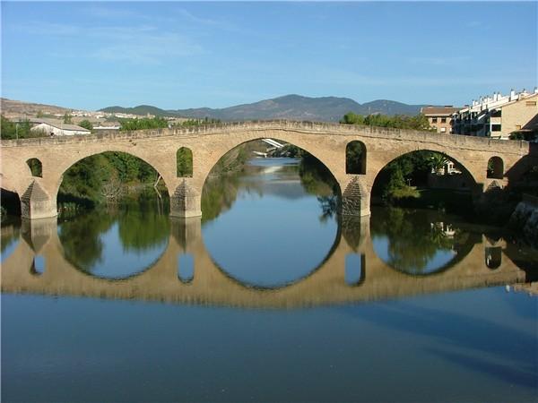 Brücke Puente la Reina