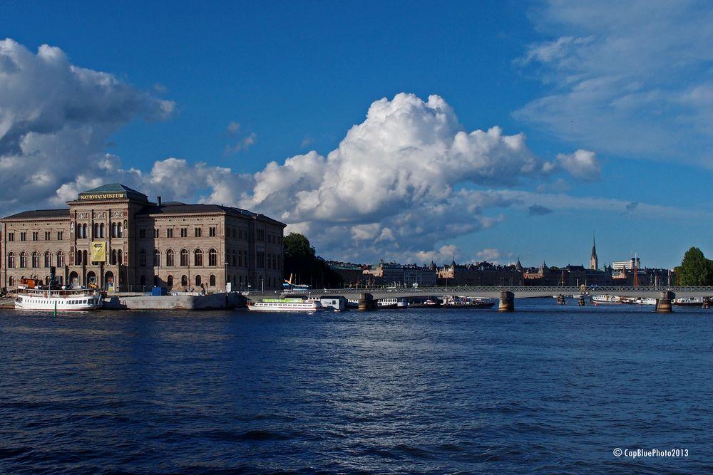 Brücke Skeppsholmbron auf Skeppsholmen