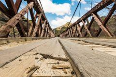 Brücke über den Arrow  - Skippers Road NZ