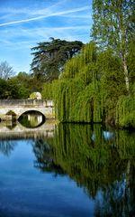 Brücke über den Fluss Indre