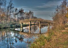 Brücke über den Hagenburger Kanal