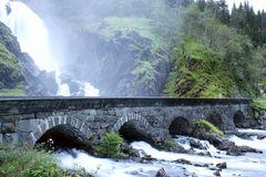 Brücke über den Latefossen