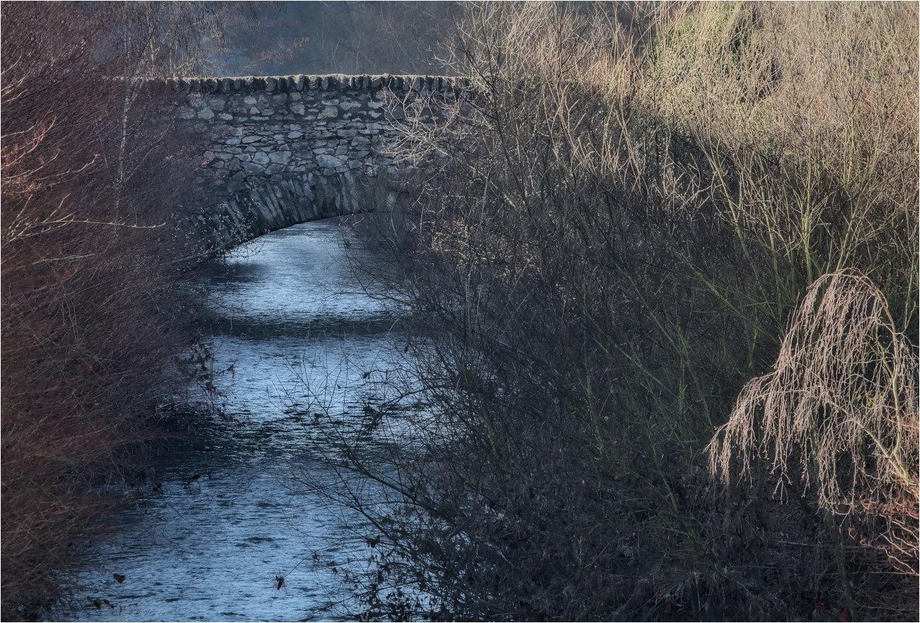 Brücke über die Aar in Diez / Lahn