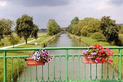 Brücke über die Meuse.