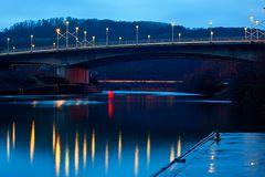 Brücke über die Saar