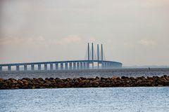 Brücke von Dänemark nach Schweden