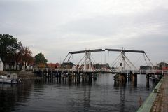 Brücke Wieck geschlossen