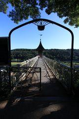 Brücke zum Fahrstuhl