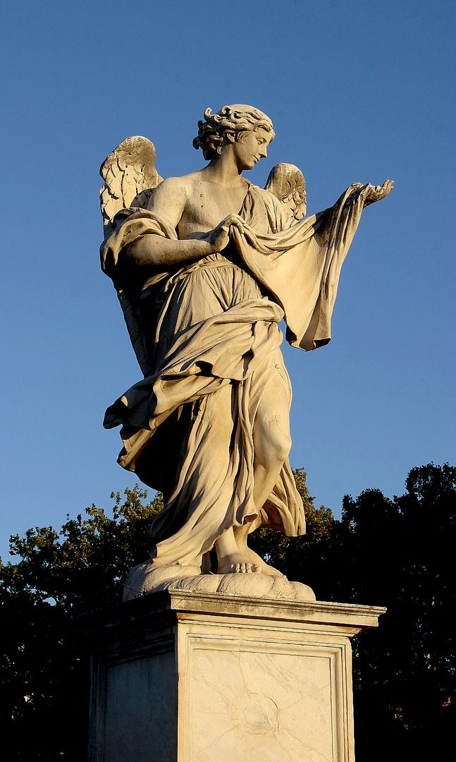 Brücken-Engel mit Tuch