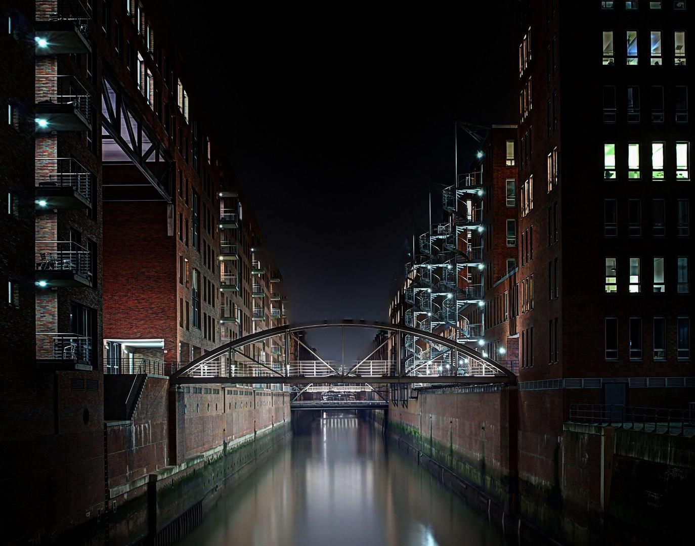 Brücken über dem Fleet
