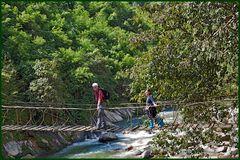 Brücken über den Fluß...