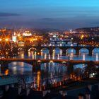 Brücken view in Prag