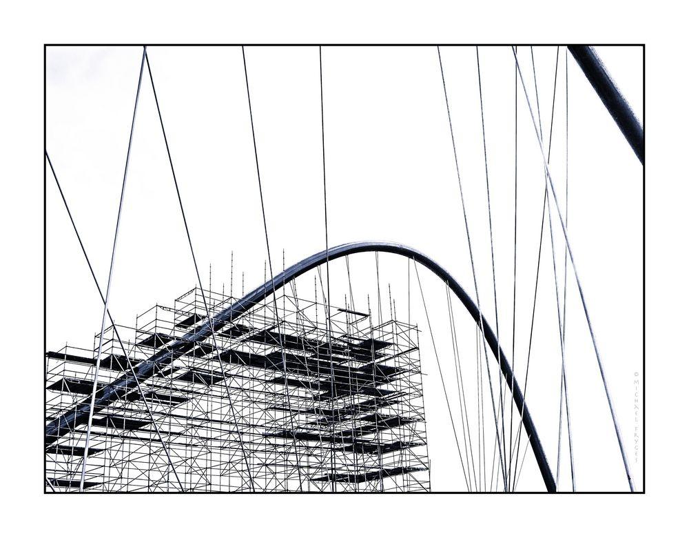 Brückenarbeiten.......