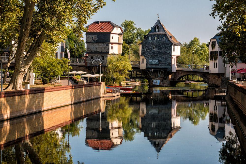Brückenhäuser in Bad Kreuznach Foto & Bild | world