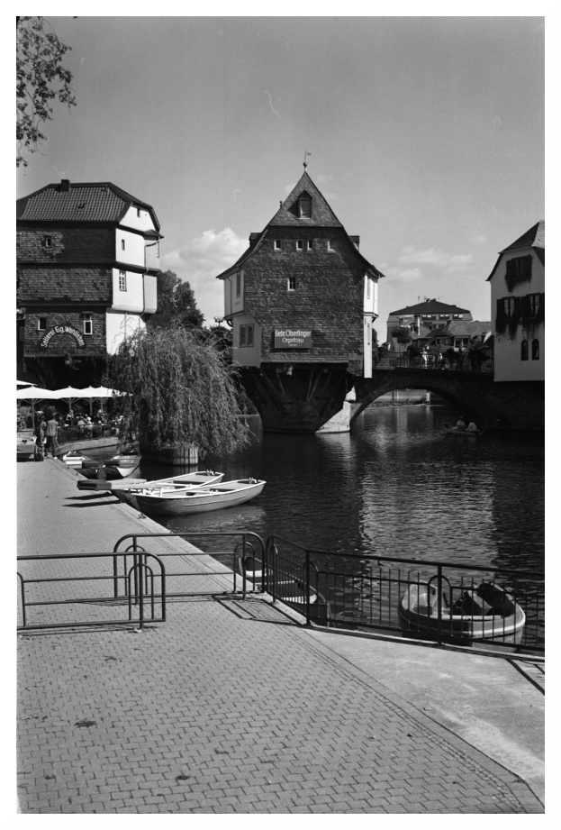 Brückenhäuser in Bad Kreuznach