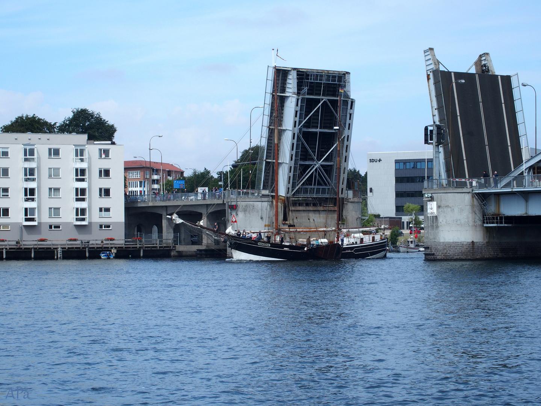 Brückenöffnung