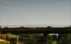Brückenspiegelung # Reflejos de un puente