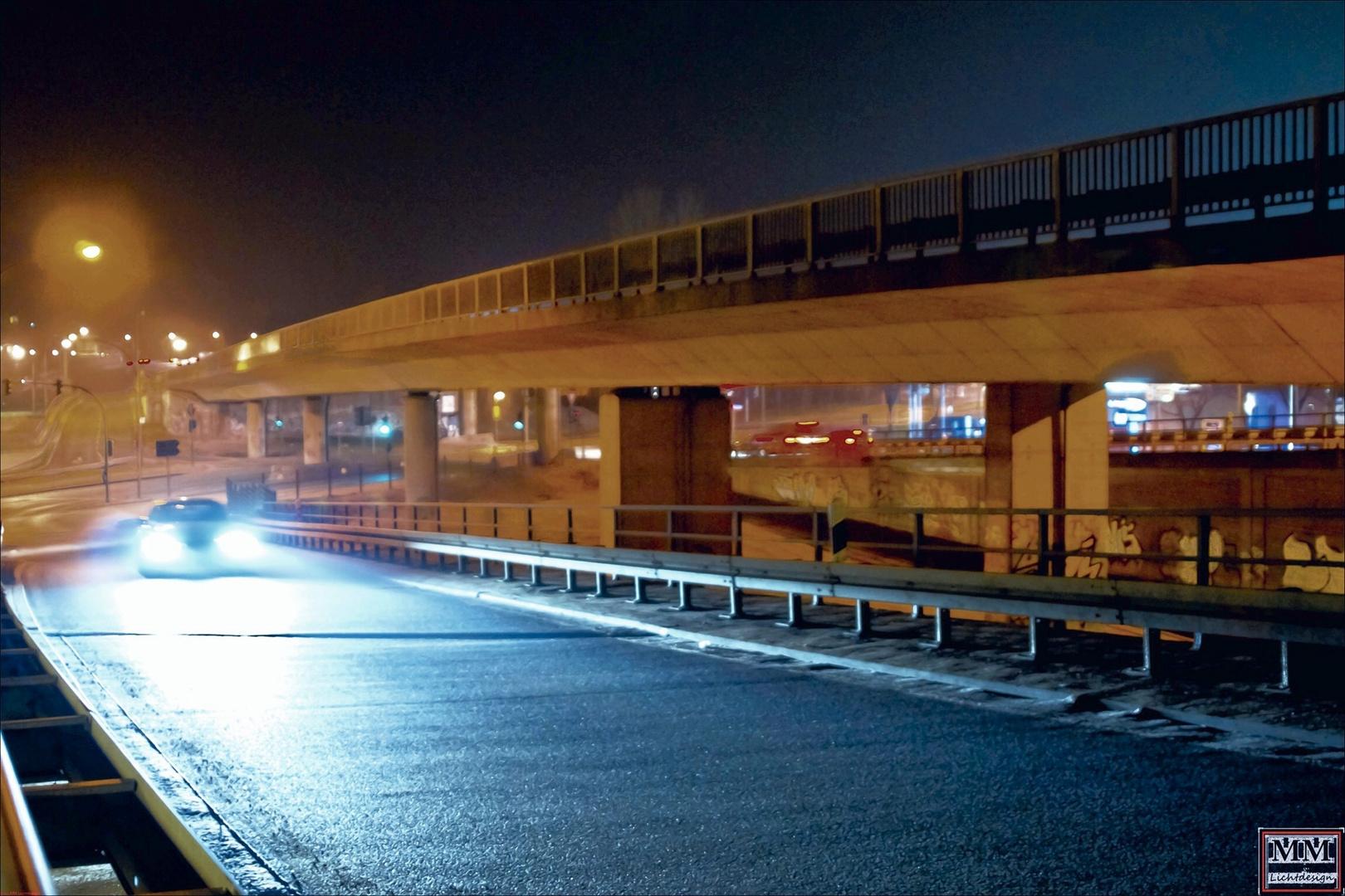 Brückensuffahrt