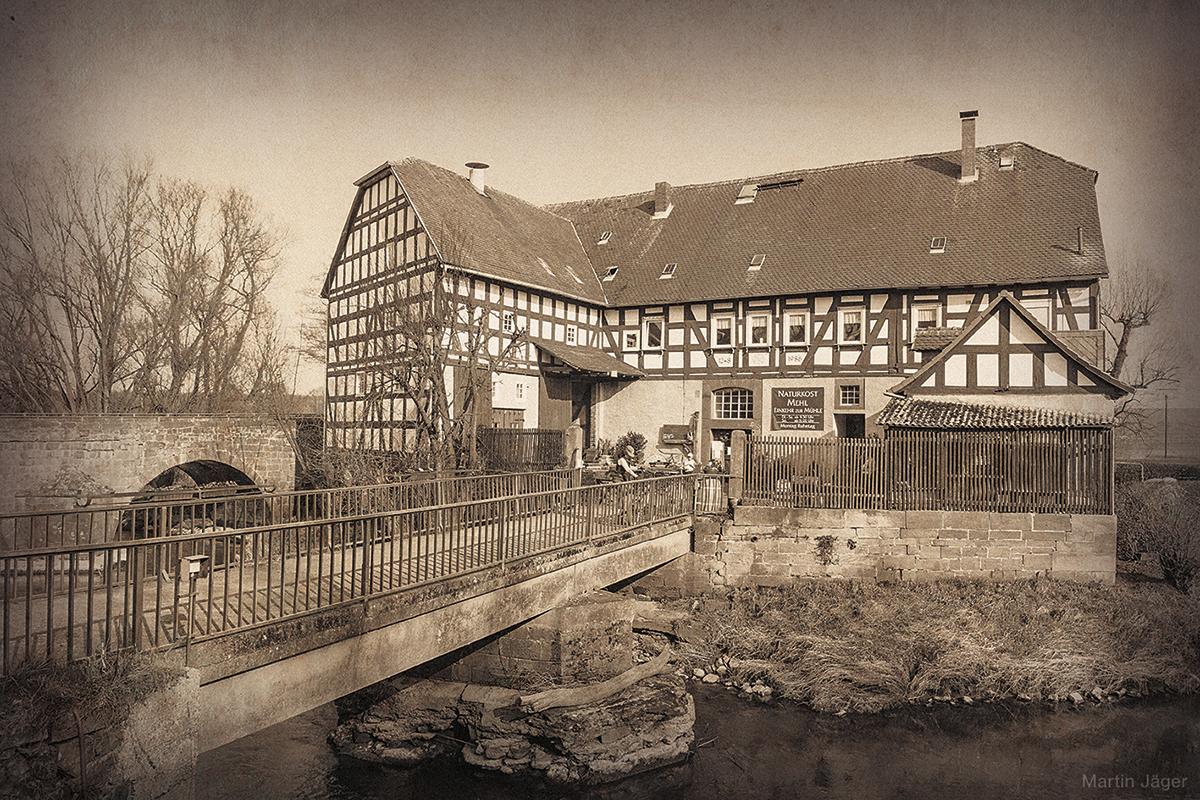 Brücker Mühle auf der Amöneburg