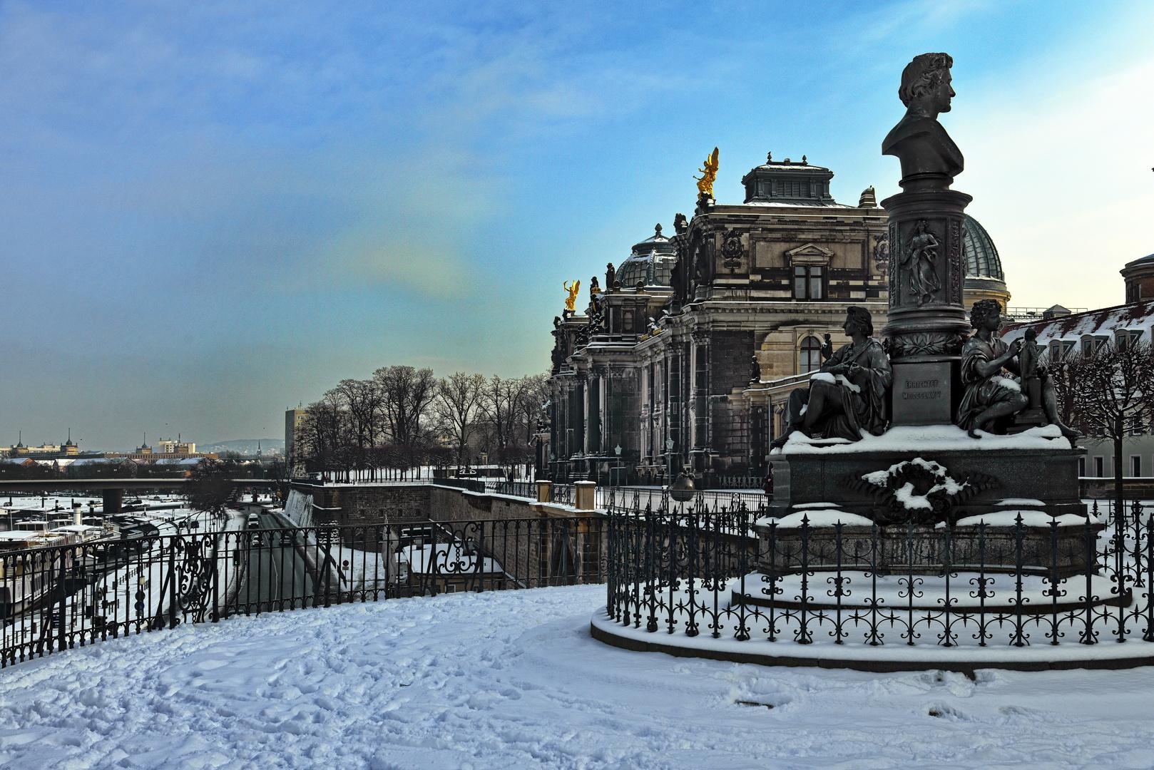 Bruhlsche Terrasse Dresden Foto Bild Art City Street Bilder