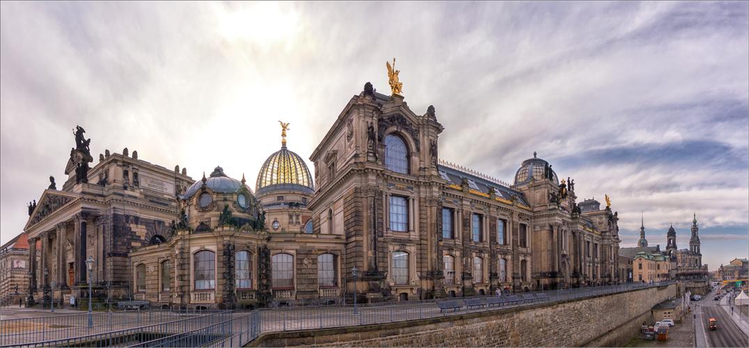 Bruhlsche Terrasse Dresden Foto Bild World Panorama Dresden