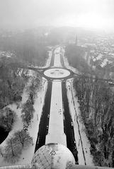 Brüssel, Blick vom Atomium