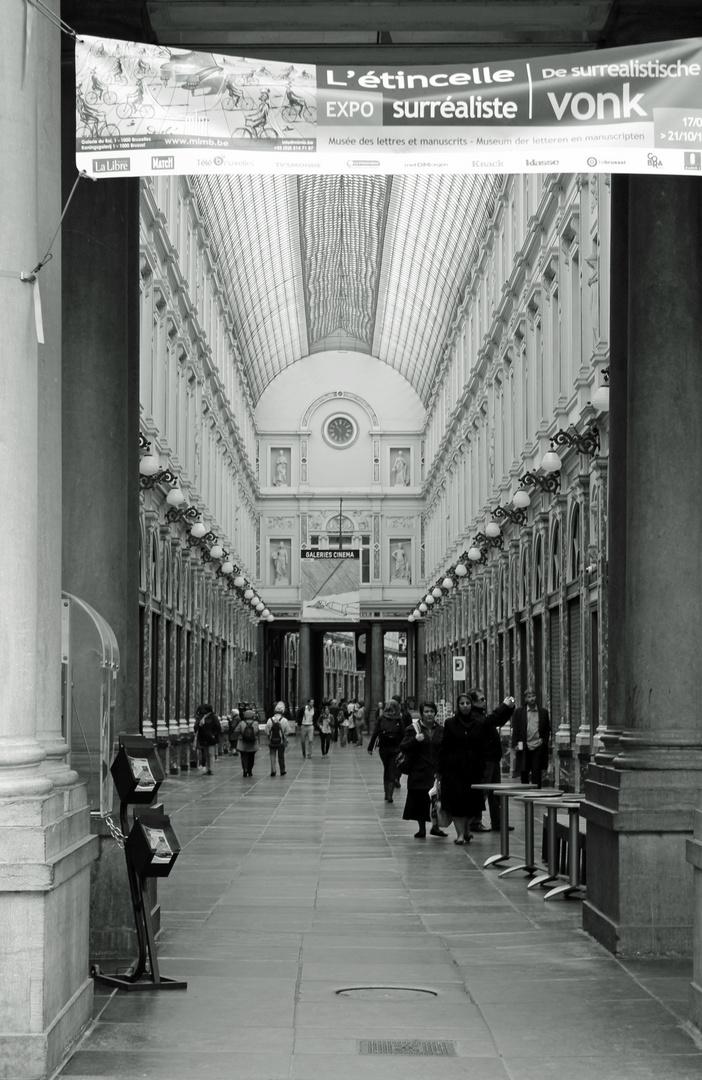 Brüssel Einkaufspassage