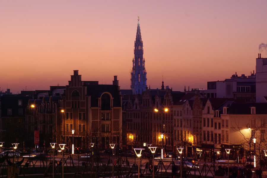 Brüsseler Abendrot