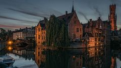 Brugge am Abend