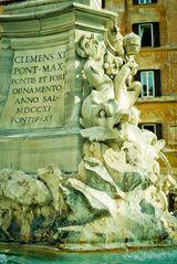 Brunnen an der Piazza della Rotonda