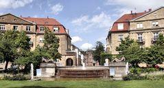 Brunnen auf dem Haydn-Platz