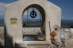 Brunnen auf Kloster San Salvador Mallorca