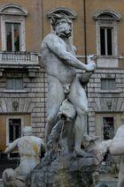 Brunnen-Figur Piazza Navona