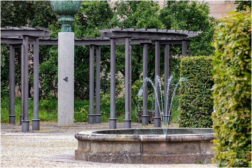 Brunnen im Domgarten