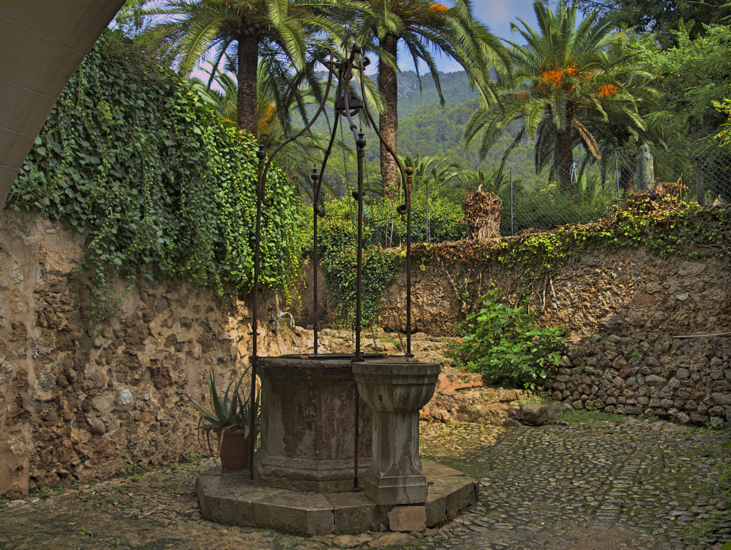 Brunnen im Hinterhof