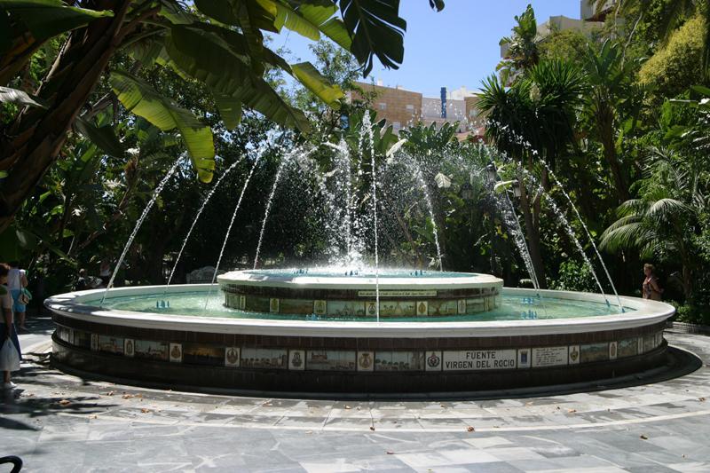 Brunnen im Süden